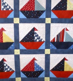 Sailboat Quilt Pattern for Baby | keywordslanding.net