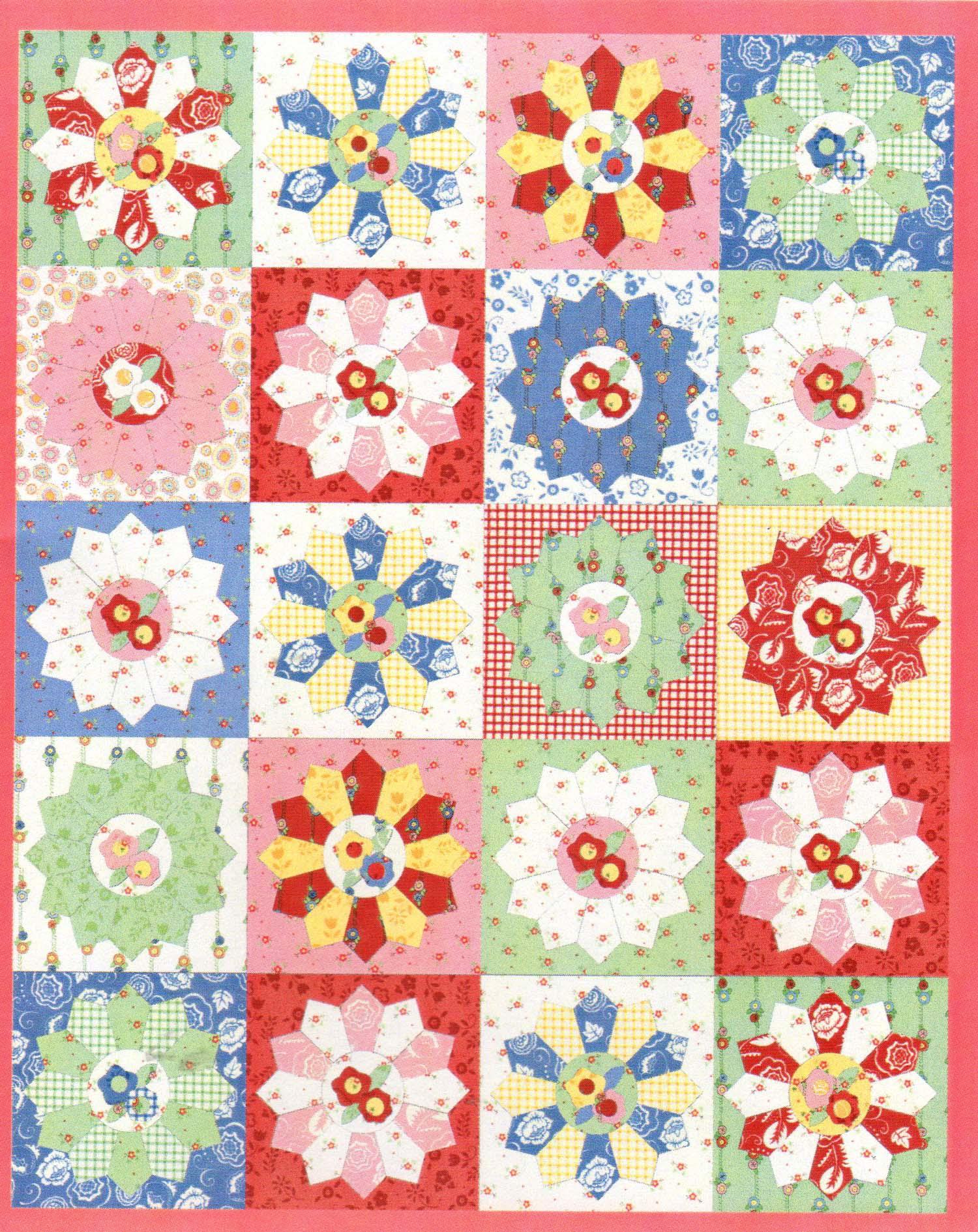 Pattern: Dresden Plate