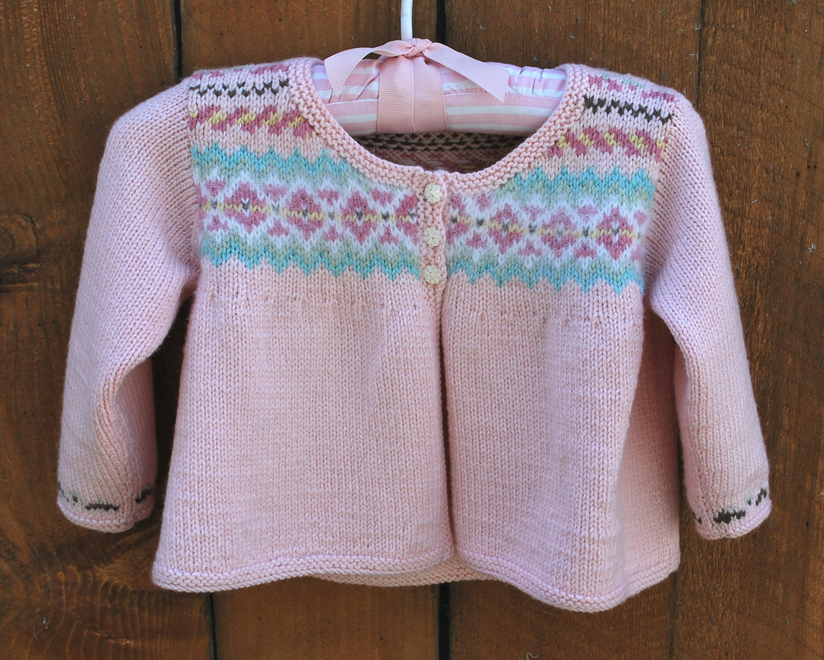 Baby Fair Isle – The Piper's Girls