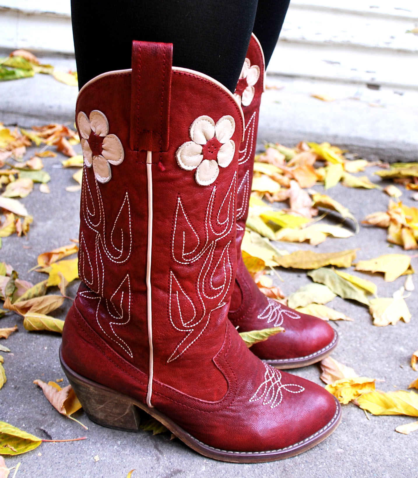 Red Cowboy Boots For Girls - Yu Boots