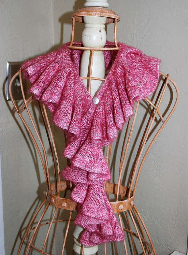 Romantic Ruffle Scarf The Pipers Girls