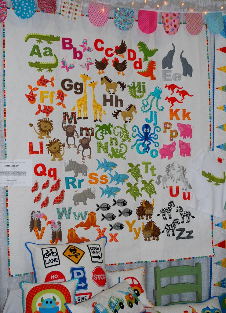 Alphabet Quilting Patterns : Animal Alphabet The Piper s Girls