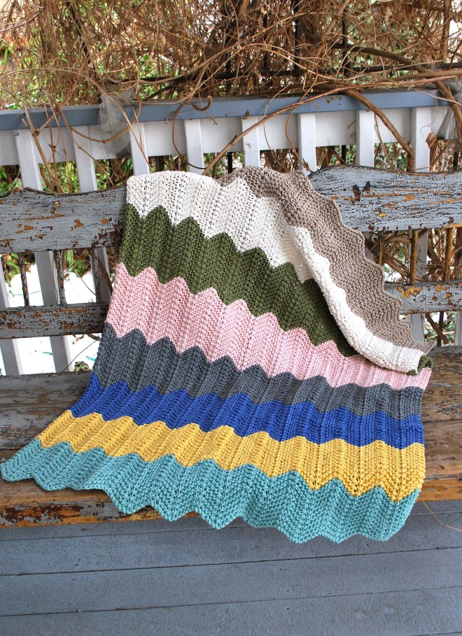 Chevron Baby Blanket The Piper S Girls