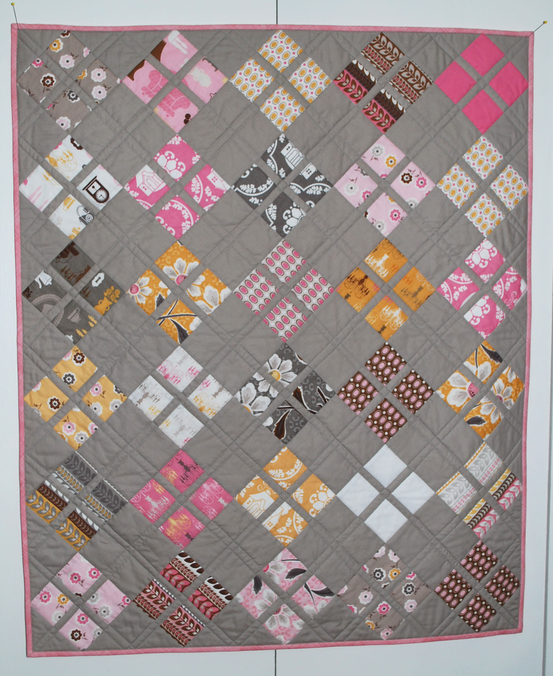 free baby quilt pattern – The Piper's Girls