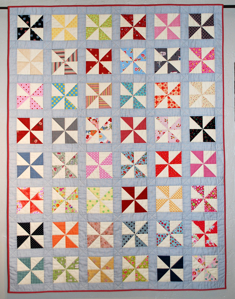 Quilt Pattern For Pinwheels : free quilt patterns The Piper s Girls
