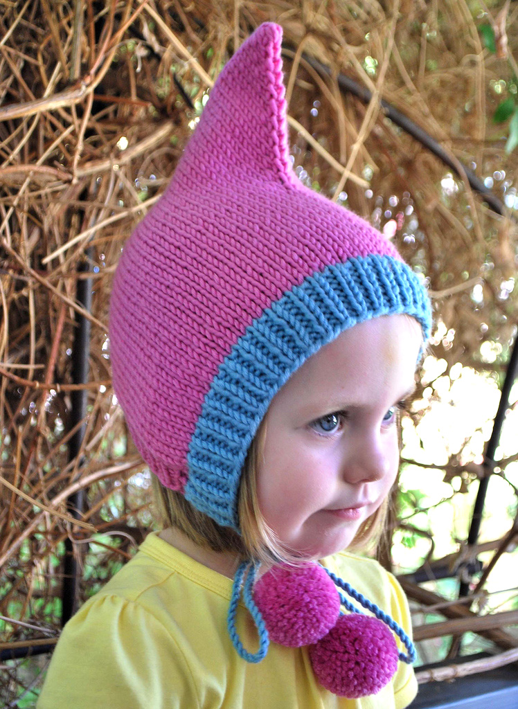 Knitting Pattern For Baby Elf Hat : Pixie Hat Crochet and Knit on Pinterest Hat Patterns ...