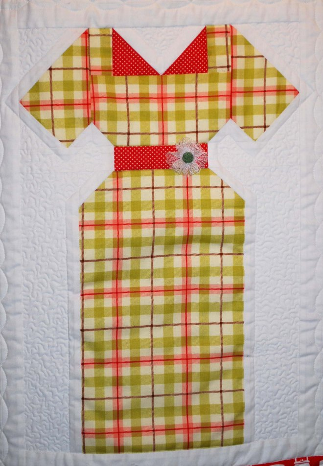 Vintage Dress Quilt The Piper S Girls