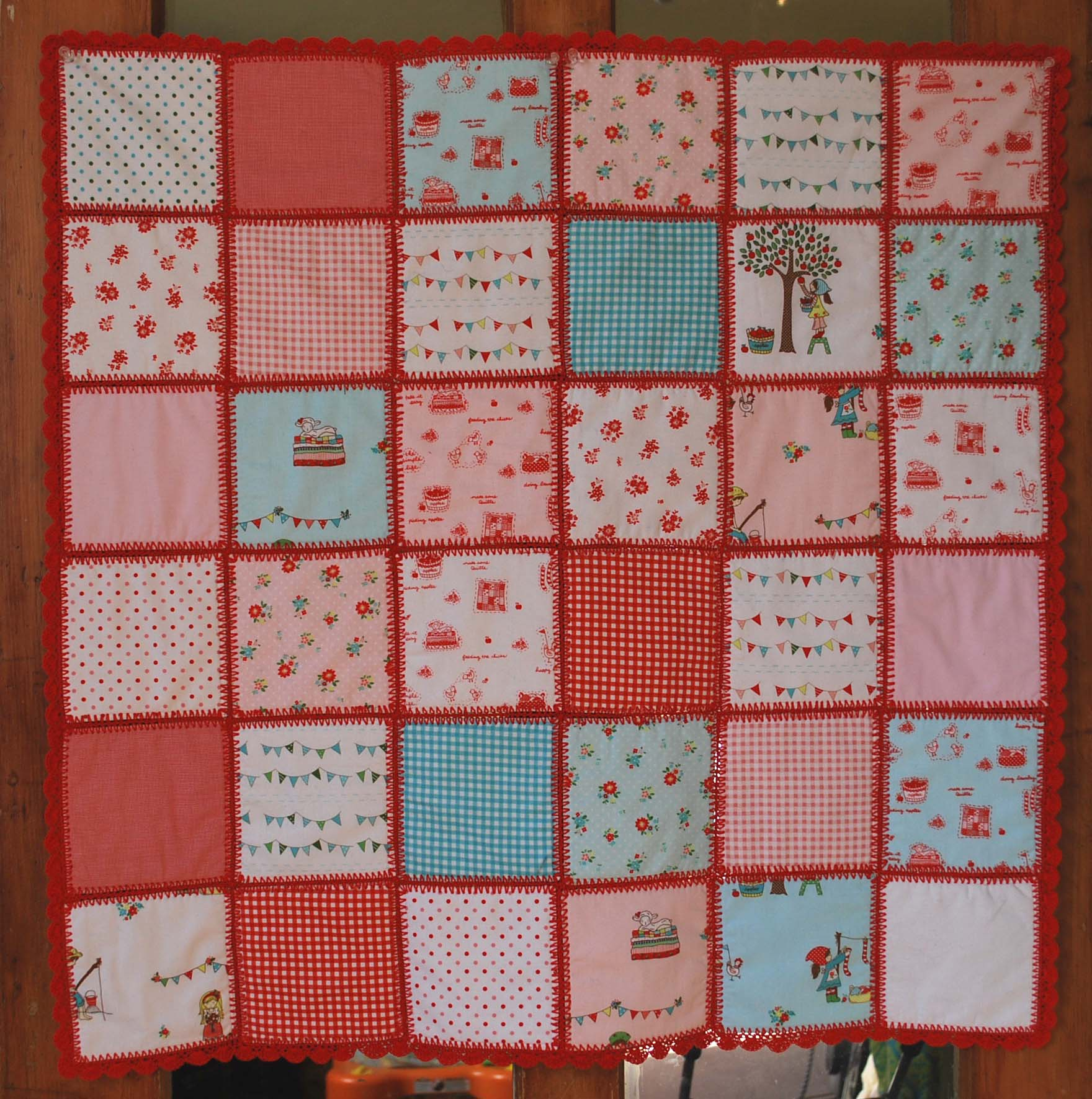 Crocheting A Baby Quilt : Crochet Baby Patchwork Quilt - The Pipers Girls