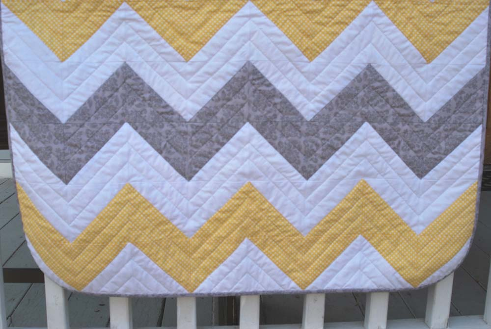 Chevron Baby Quilt The Piper S Girls