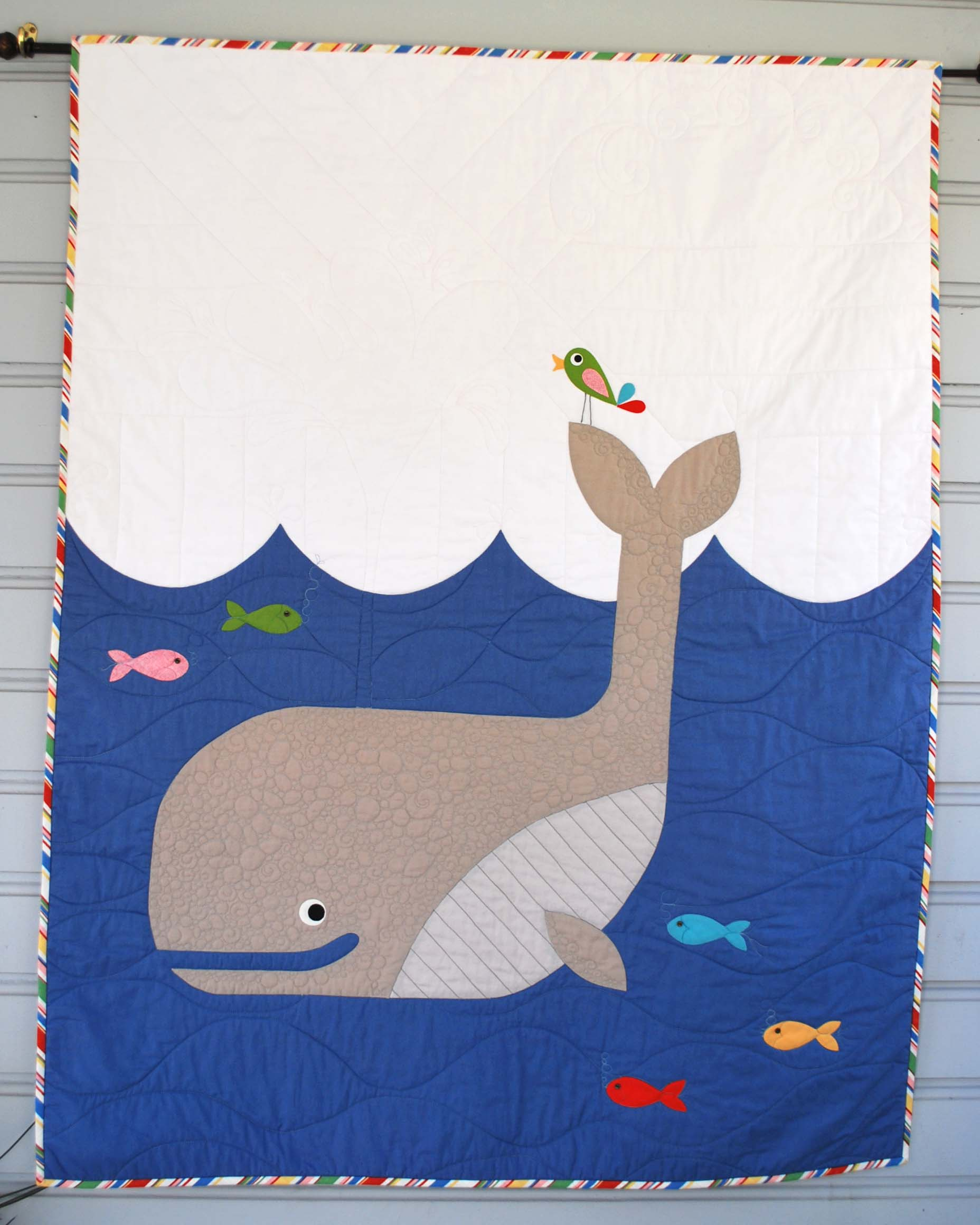 Whale Baby Quilt The Piper S Girls
