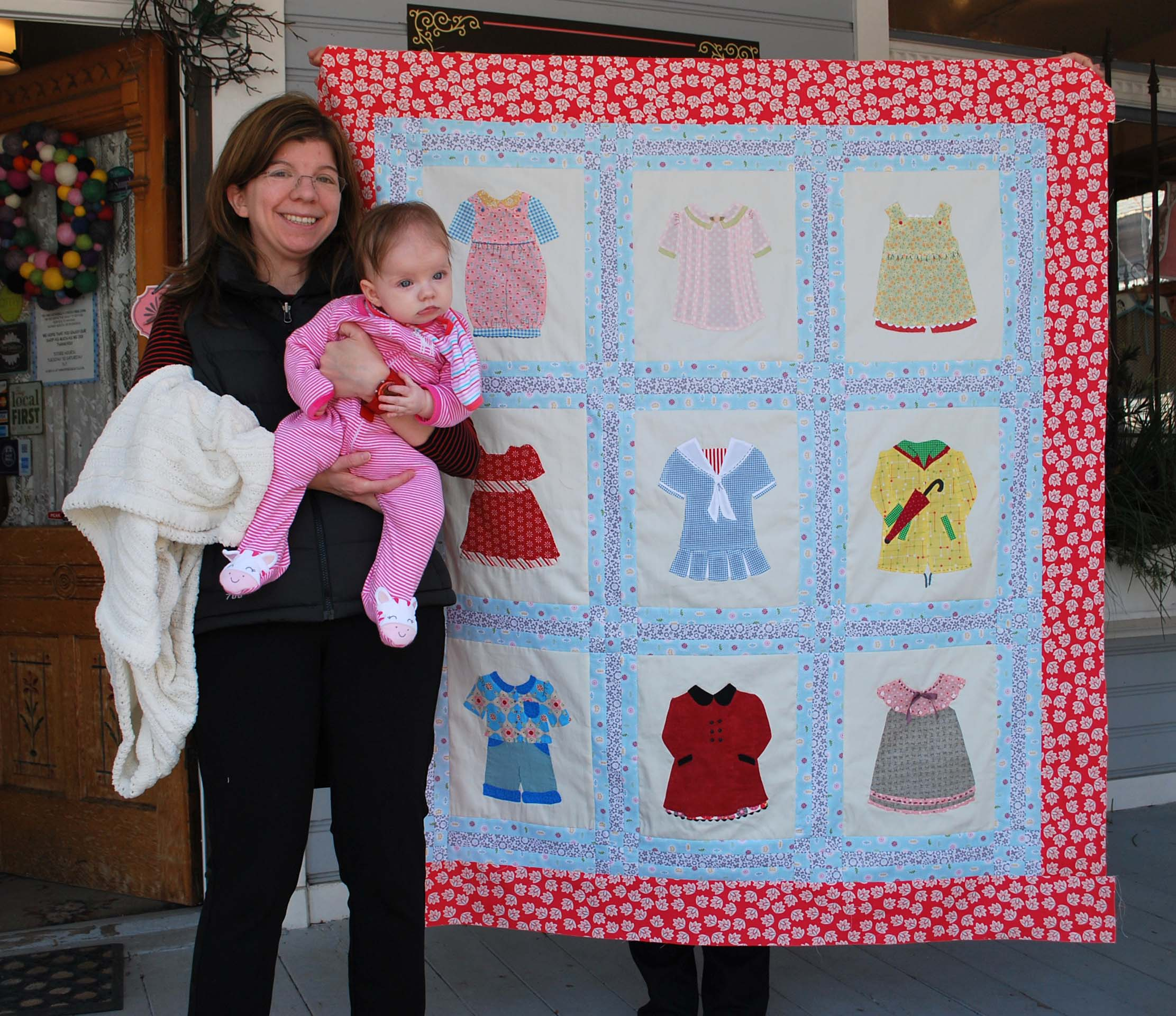 Applique Quilts The Piper S Girls