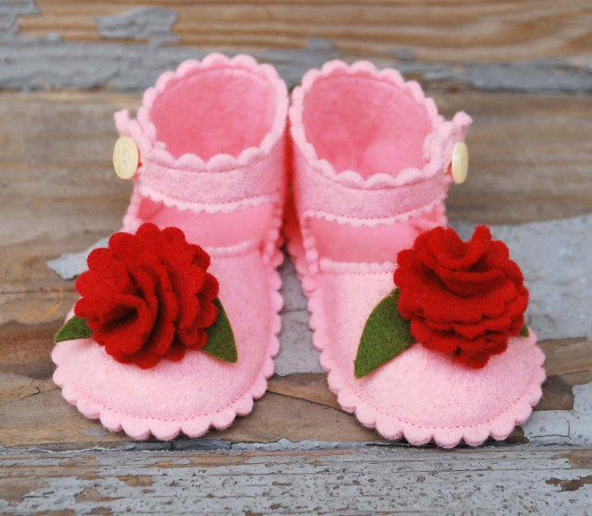 pink baby janes