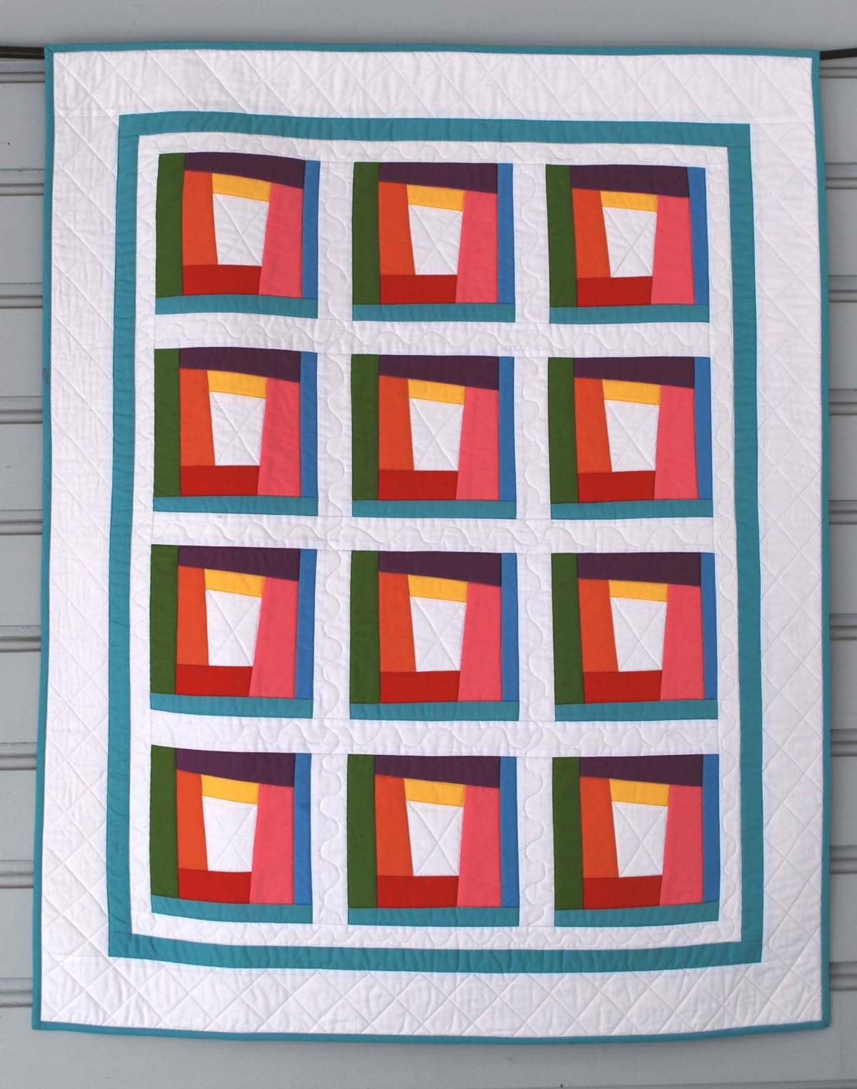 Simple Modern Quilt Patterns Free : free quilt patterns The Piper s Girls