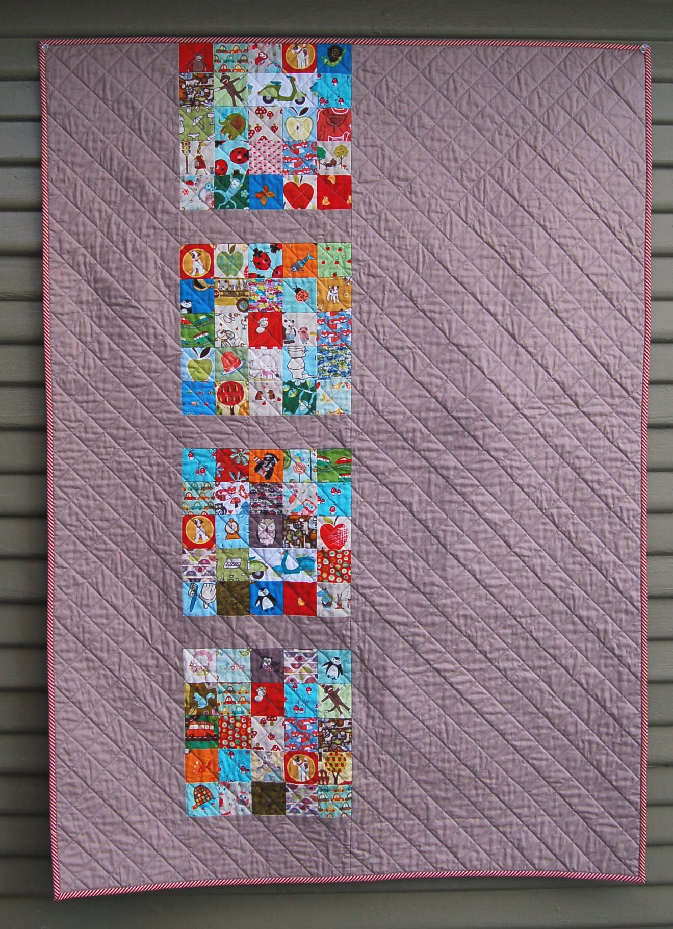 Simple Modern Quilt Patterns Free : Modern Eye Spy Quilt The Piper s Girls