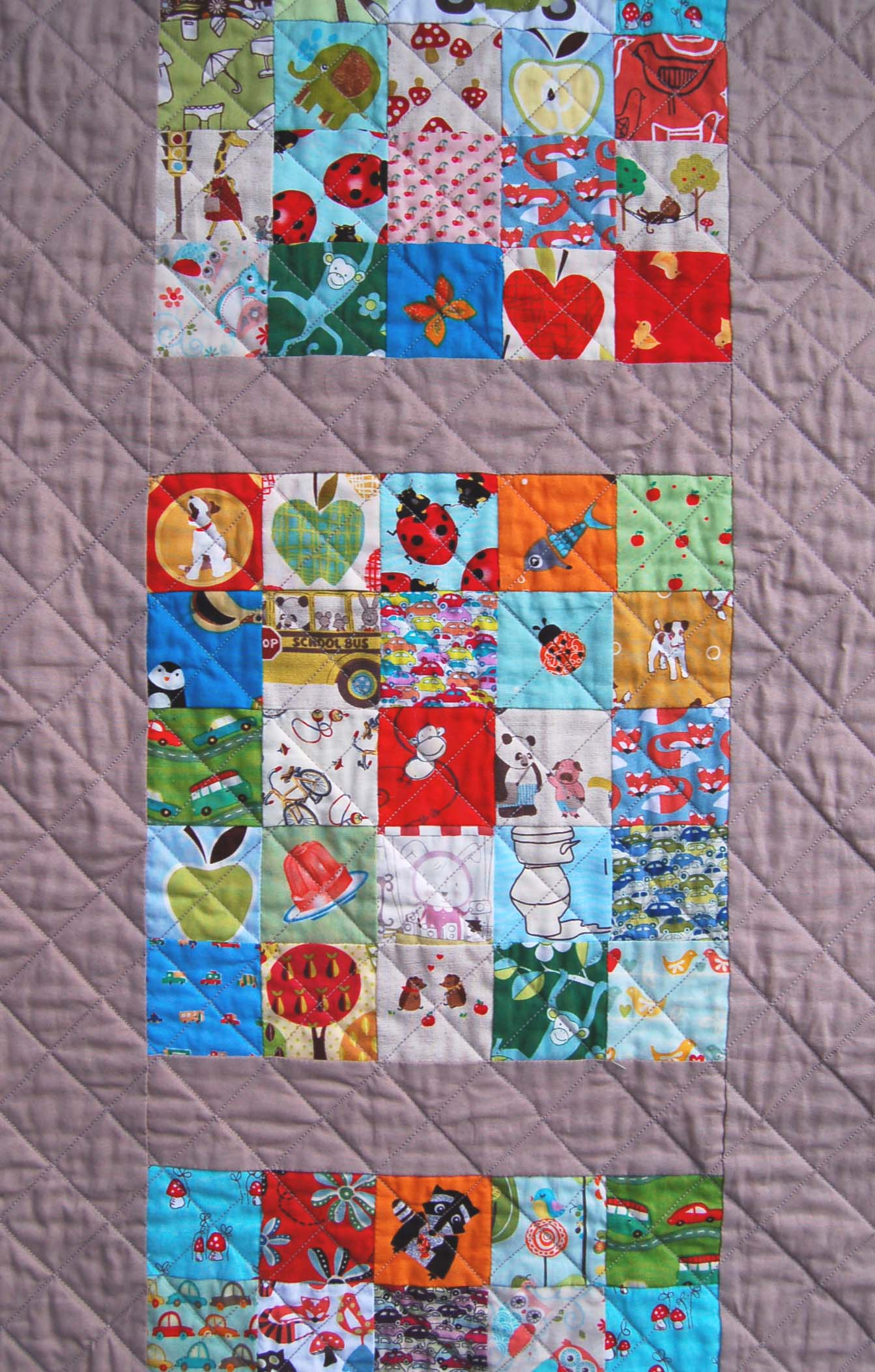 Modern Eye Spy Quilt – The Piper's Girls : modern kids quilts - Adamdwight.com