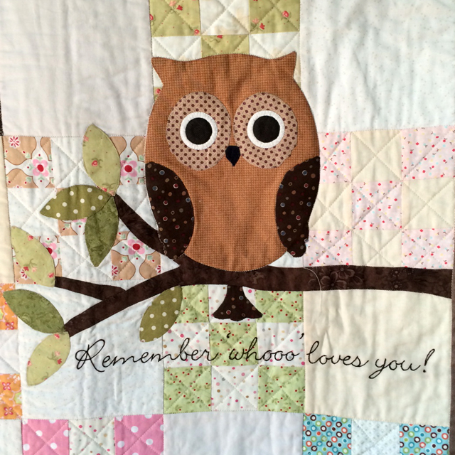 owl baby quilt pattern – The Piper's Girls : baby quilt owl pattern - Adamdwight.com