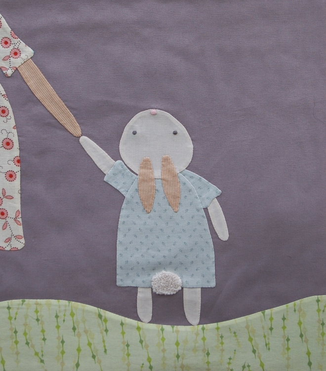 Pipers Girls B is for Bunnies Quilt
