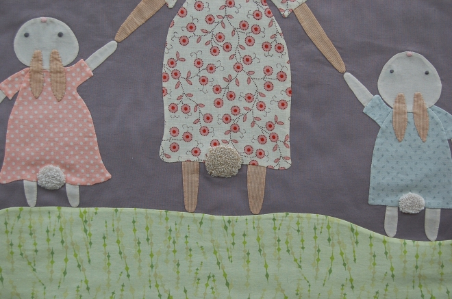 Piper's Girls B is for Bunnies Quilt