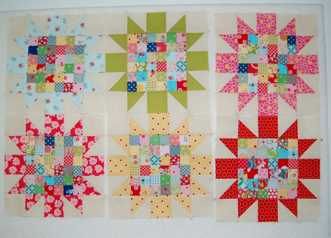 Blooming Star Blocks