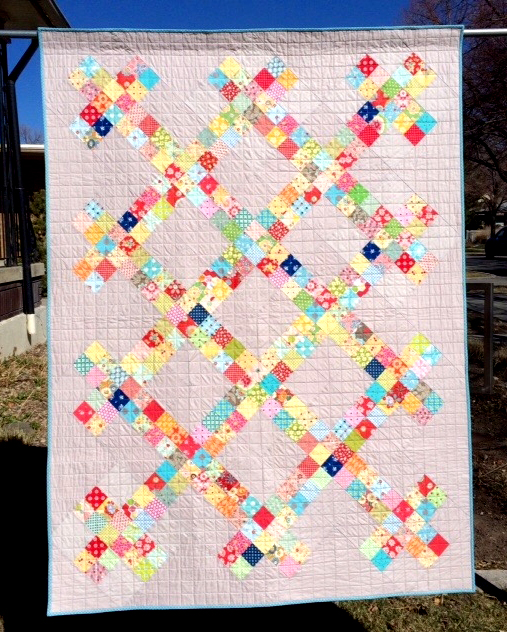 Piper's Picket Fence Quilt