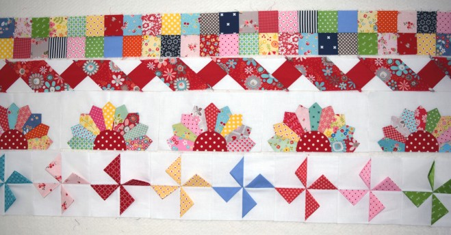 Row Quilt The Pipers Girls